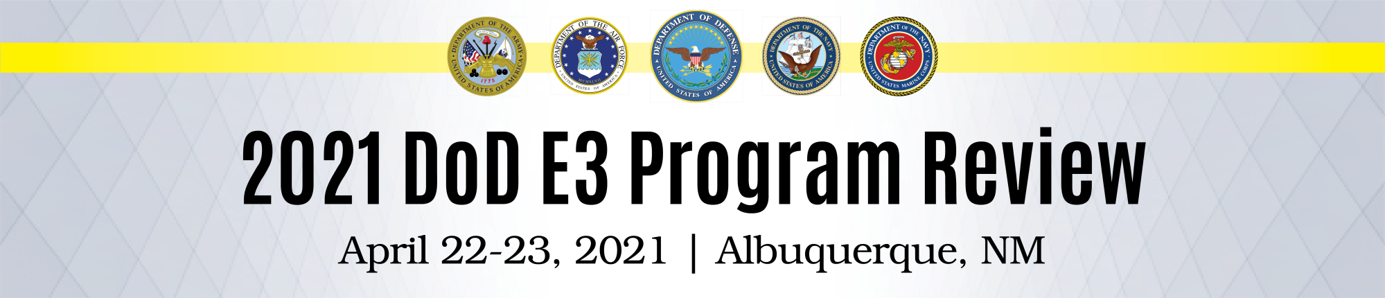 DoD Electromagnetic Environmental Effects (DoD E3) Program Review